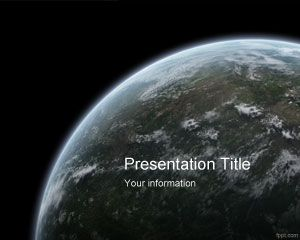 WWF Earth Hour PowerPoint Template