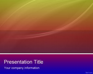 Color Scheme PowerPoint Template PPT Template
