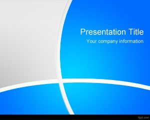 Blue Manager PowerPoint Template PPT Template
