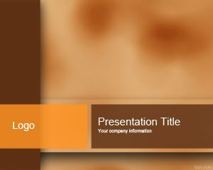 Brown Color PowerPoint Template