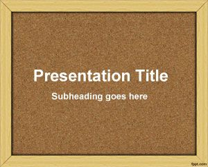 bulletin board template word bulletin board powerpoint template