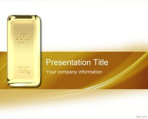 Bullion PowerPoint Template