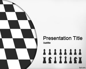 Chess Strategy PowerPoint Template