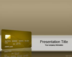 Link toCredit card rating powerpoint template