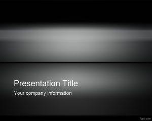 Dark Iron PowerPoint Template