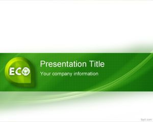 Ecology recycle free powerpoint templates this free ppt template is eco friendly and has a green label that you can download for recycle and eco friendly presentations in powerpoint this green toneelgroepblik Choice Image