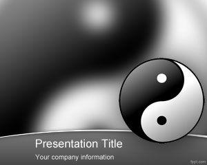 Plantilla PowerPoint de Feng Shui
