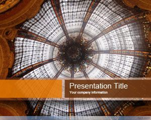 Galleries PowerPoint Template