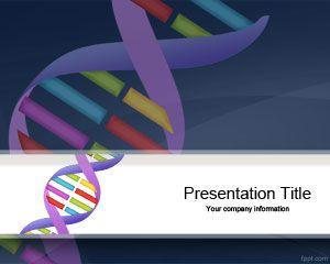 Genetics DNA Sequencing PowerPoint Template
