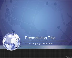 Global PowerPoint Template free download