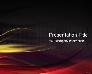 Hot PowerPoint Template