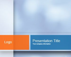 Plantilla PowerPoint en tonos azules PPT Template