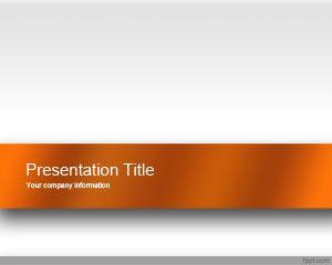 Plantilla PowerPoint Atractiva de color Naranja