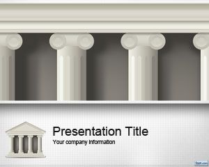 Public Institution Governance PowerPoint Template