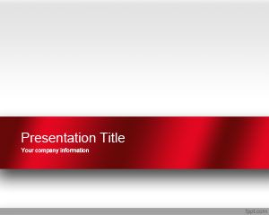 Free Red Engage Powerpoint Template