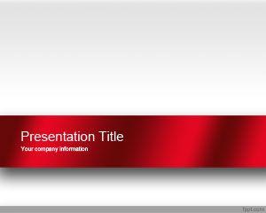 Plantilla PowerPoint Atractiva de color Rojo PPT Template