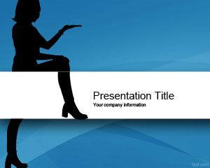 Sexy Presenter PowerPoint Template