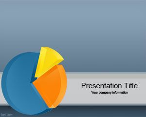 Plantilla Powerpoint con gráfico 3D PPT Template