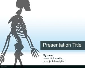 Anatomy powerpoint template for Anatomy ppt templates free download