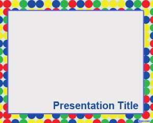circles – free powerpoint templates, Powerpoint templates