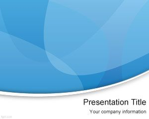 Blue Modern PowerPoint Template