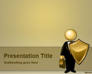 Link toInsurance broker powerpoint template