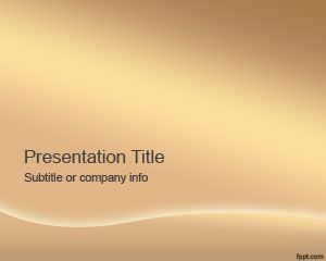 Bronze PowerPoint Template