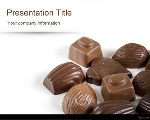 Chocolates PowerPoint Template