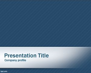 Clean Blue PowerPoint Template