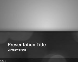 Clean Gray PowerPoint Template