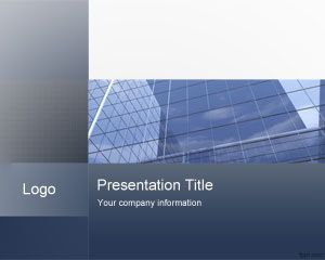 Link toCorporate office powerpoint template
