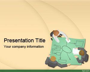 Plantilla PowerPoint de Estrategia Gratis PPT Template