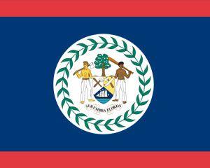 Bandera de Belice Plantilla PowerPoint