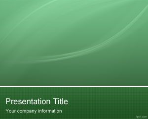Green hi tech powerpoint template Examples of green technology