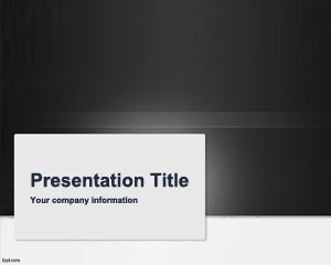 Grey Review PowerPoint Template