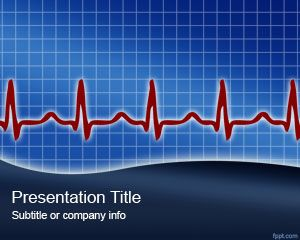 Heart Rythm PowerPoint Template