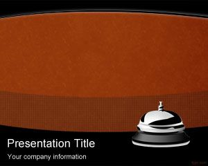 Hotel Bell PowerPoint Template