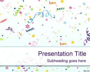 Kids Birthday PowerPoint Template