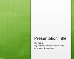 Light Green Abstract PowerPoint Template