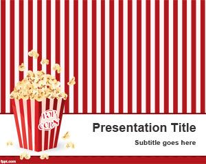 Pop Corn PowerPoint Template
