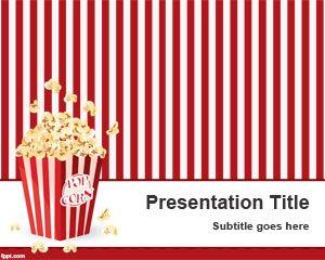 Pop Corn PowerPoint Template