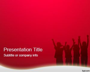Medicine free powerpoint templates this ppt template slide has kids and children playing in the slide design and a shiny red background color you can download this free ppt template for toneelgroepblik Choice Image