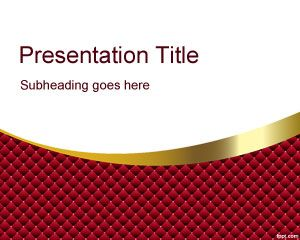 Red Quirky PowerPoint Template