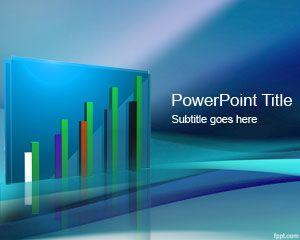diseño de modelo PowerPoint 3D ventas