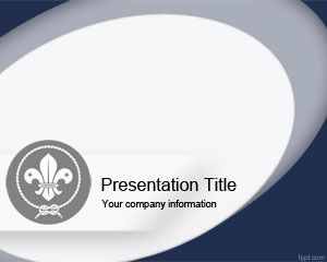 Plantilla powerpoint de boy scout plantillas powerpoint for Cub scout powerpoint template