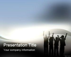 Social Entrepreneur PowerPoint Template
