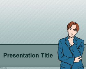 Thinker PowerPoint Template
