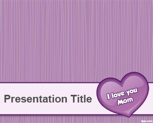 Free Mother PowerPoint Templates | Free Powerpoint Templates