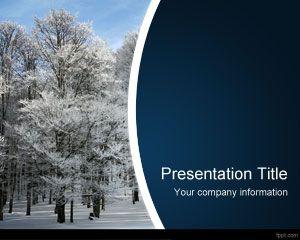 Plantilla PowerPoint de Invierno PPT Template