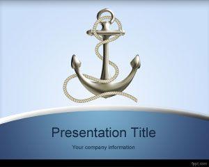 Plantilla PowerPoint de Anclaje